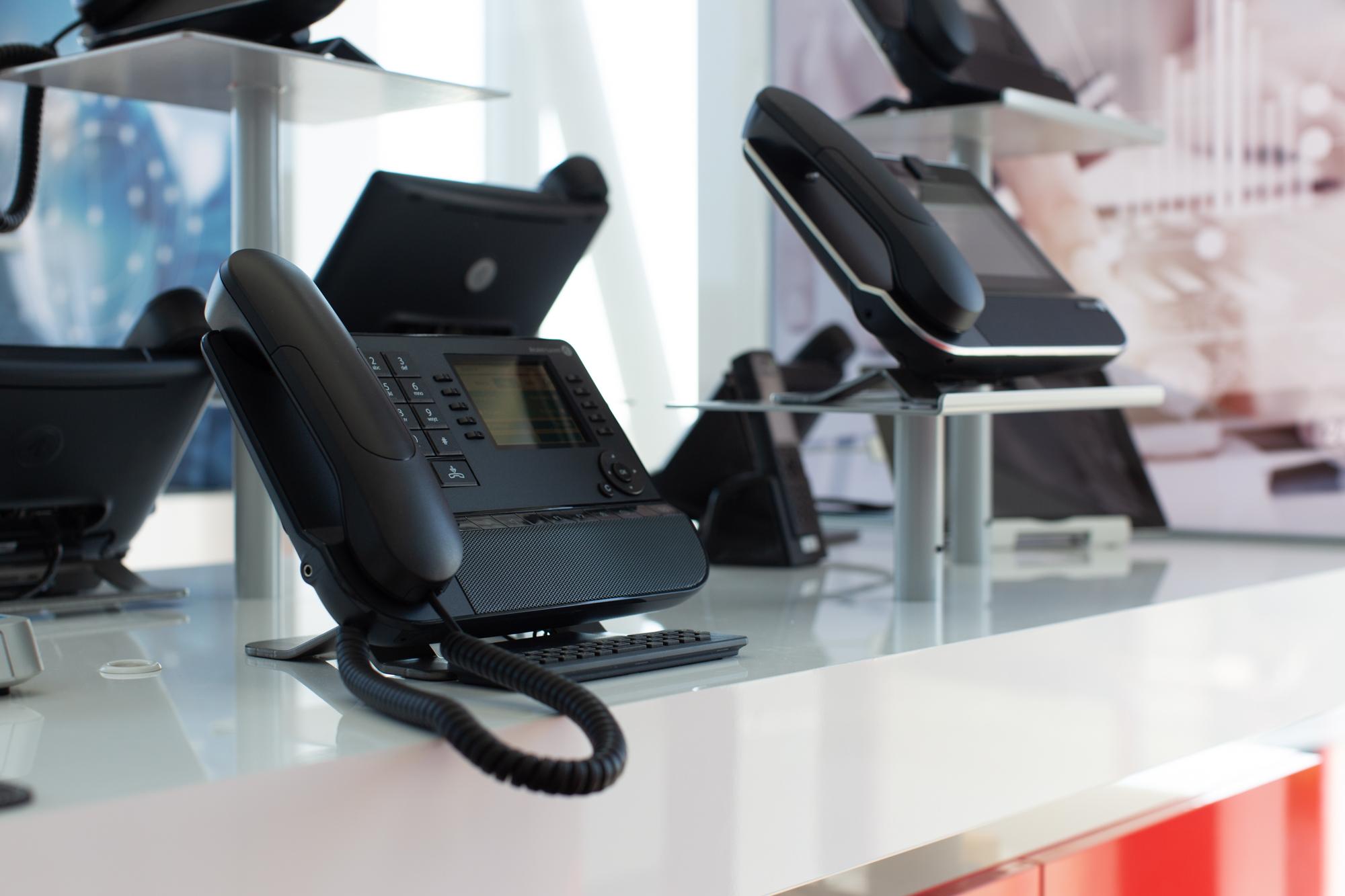 BREKOM Showroom Telefonie