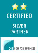 C4B certified silver partner Logo