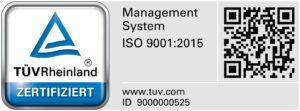ISO 9001 Prüfzeichen_RegNr_9000000525_DE_CMYK_with-QR-Code