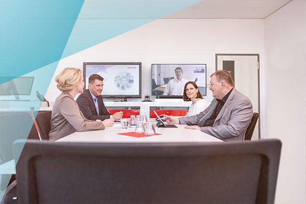 Videokonferenz mit Hosted UCC