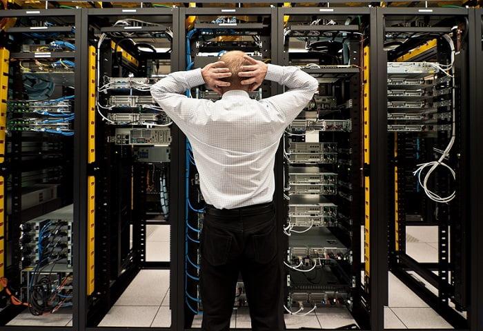 Datenverlust im Rechenzentrum