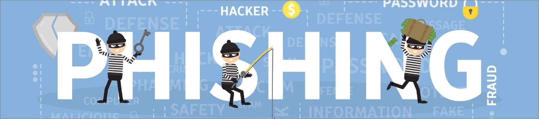 Phishing Mails Ratgeber BREKOM Headerbild
