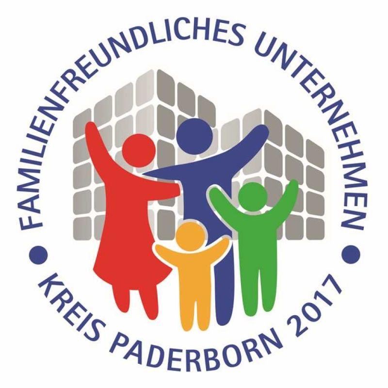 Familienfreundliches Unternehmen Guetesiegel Paderborn